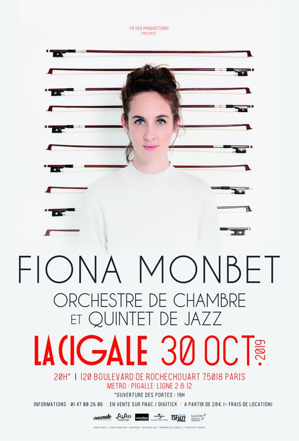 Concert: Fiona Monbet @ La Cigale
