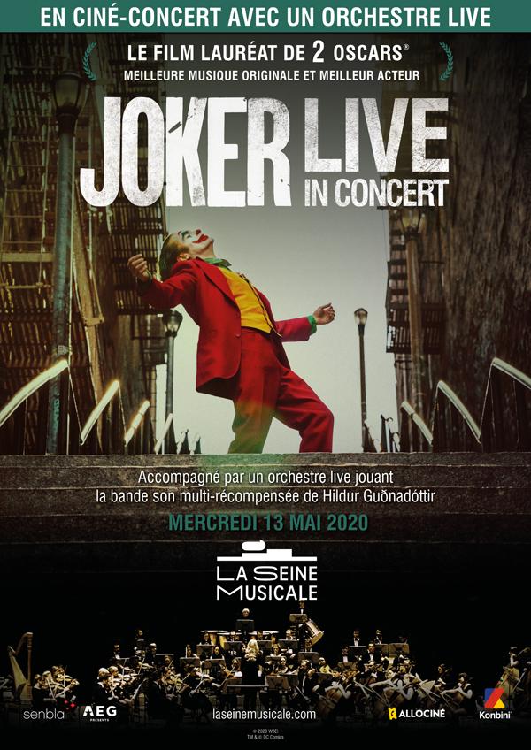 Joker – ciné concert à la Seine Musicale