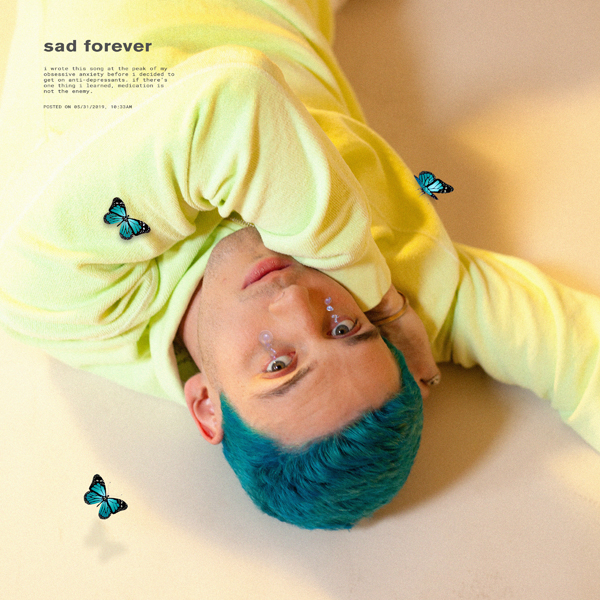 "Musique: Lauv sort le single ""Sad Forever"""